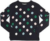 Nice Things Polka Dot Wool & Cashmere Blend Sweater