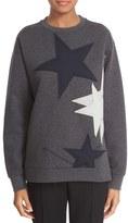 Stella McCartney Women's Star Applique Sweatshirt