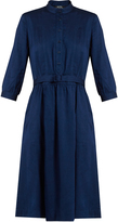 A.P.C. Marion stand-collar twill dress