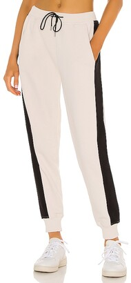 ATM Anthony Thomas Melillo French Terry Pull On Pant With Racing Stripe