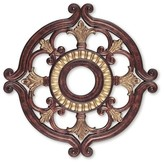 "Livex Lighting Ceiling Medallion in Verona Bronze Size: 1.5"" H x 23.5"" W x 23.5"" D"