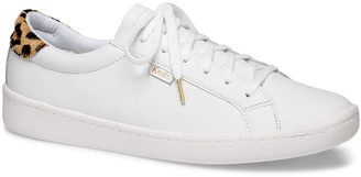 Keds x kate spade ace leather/leopard sneakers