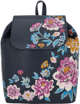 Accessorize Floral Embroidered Backpack