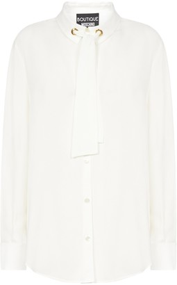 Boutique Moschino Bow-Detailed Blouse