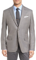John W. Nordstrom Classic Fit Houndstooth Wool Sport Coat