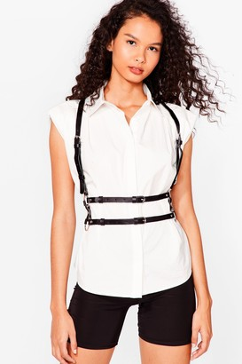 Nasty Gal Womens Shake That Harness Strappy Harness - Black - One Size