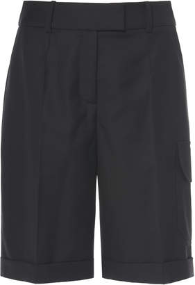Boyarovskaya Wool Cargo Shorts