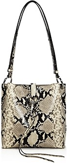 Rebecca Minkoff Megan Small Snake Print Feed Bag - 100% Exclusive