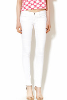 Flying Monkey White Motto Jeans