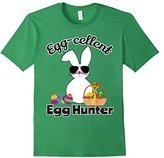 Funny Easter Outfit Boys Girls EggCellent Egg Hunter Shirt