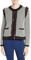 Tory Burch Petra Sequin Embellished Cardigan