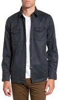 Jeremiah Men's 'Colt' Regular Fit Sueded Cotton Blend Shirt Jacket