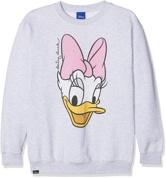 Disney Girl's Daisy FACE Sweatshirt