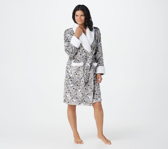 Berkshire Blanket Peanuts Robe with Sherpa Collar