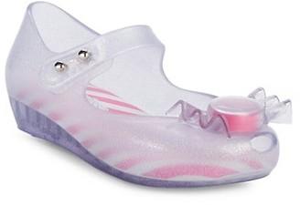 Mini Melissa Baby's, Little Girl's, & Girl's Resin Candy Ballet Flats