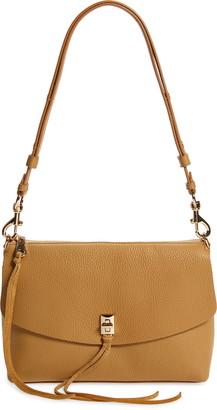 Rebecca Minkoff Darren Top Zip Leather Shoulder Bag