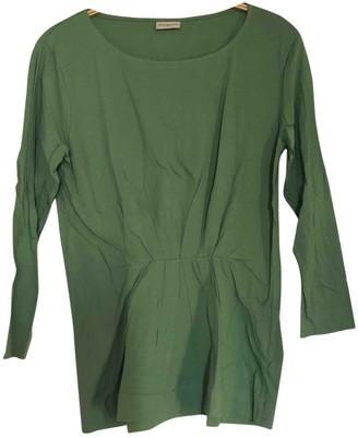 Dries Van Noten Green Cotton Top for Women