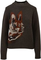 Mulberry Embroidered Sweater