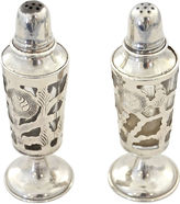 One Kings Lane Vintage Sterling Silver Salt & Pepper, Pair