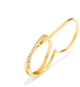 BaubleBar Ice Wrap Two-Finger Ring