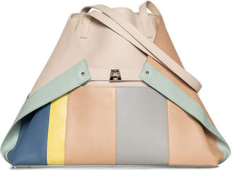 Akris Ai Medium Colorblock Patchwork Tote Bag