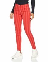Replay Damen Stella Ankle Zip Skinny Jeans
