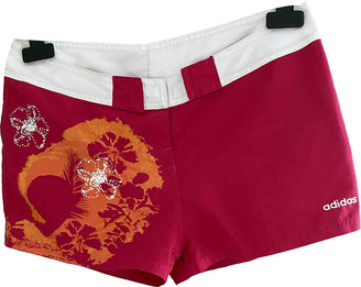 adidas Red Cotton Shorts