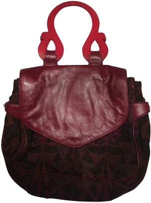 Liberty of London Designs Red Leather Handbags