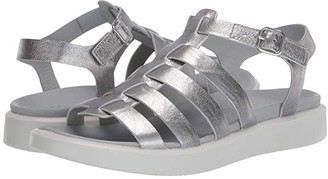 Ecco Flowt LX Sandal (Alusilver Cow Leather) Women's Shoes