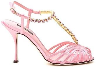 Dolce & Gabbana Crystal Embellished Sandals