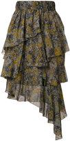 Etoile Isabel Marant Jeezon ruffled skirt - women - Viscose - 38