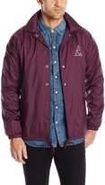 HUF Men's Triple Triangle Coachs Jacket