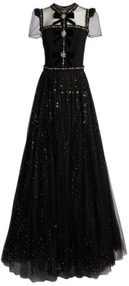 Jenny Packham Crystal-Embellished Sherrie Gown