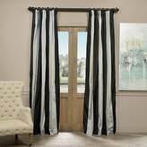 EFF Taffeta Striped Blackout Lined Window Curtain