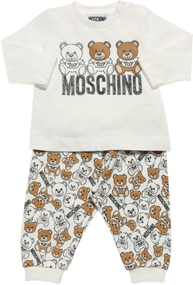 Moschino Printed Cotton Jersey T-shirt & Leggings