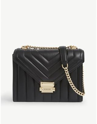 MICHAEL Michael Kors Whitney Costa large leather shoulder bag