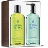 Molton Brown Cardamom & Cedarwood and Pettigree Dew Hand & Body Set