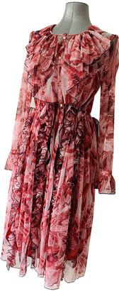 Koché Red Polyester Dresses
