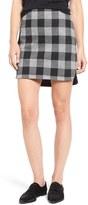 Madewell Plaid Shirttail Skirt