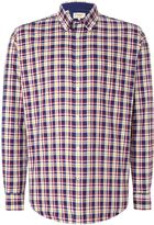 Tm Lewin Oxford Check Button Down Shirt