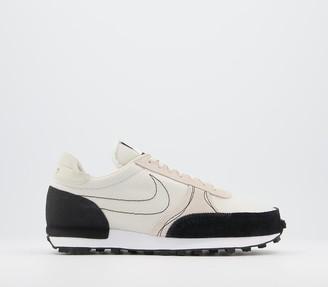 Nike Daybreak Type Trainers Light Orewood Brown Black White