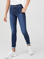 Levi's 720 High Rise Super Skinny Jeans - Denim