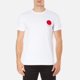 Edwin Men's Red Dot Logo 2 TShirt - White