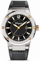 Salvatore Ferragamo F-80 Stainless Steel Watch, 44mm