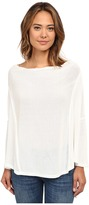 Free People Limitless Swit Jersey Lucky Day Wrapped Tee