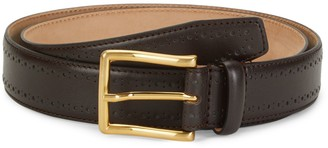 Saks Fifth Avenue Made In Italy Nappa Leather Belt