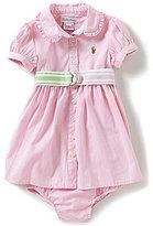 Ralph Lauren Baby Girls 3-24 Months Pleated Woven Dress