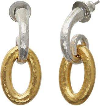 Gurhan Hoopla Silver Drop Earrings