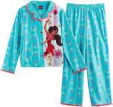 Disney Disney's Elena of Avalor Girls 4-8 Mesh Lined Top & Bottoms Pajama Set