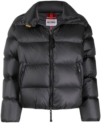 Parajumpers Logo Patch Puffer Jacket
